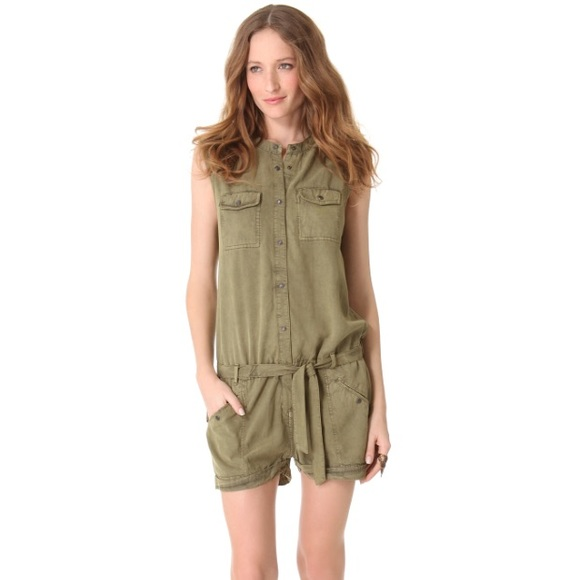 239fd7ef Scotch & Soda Pants | Scotch Soda Maison Scotch Safari Romper | Poshmark